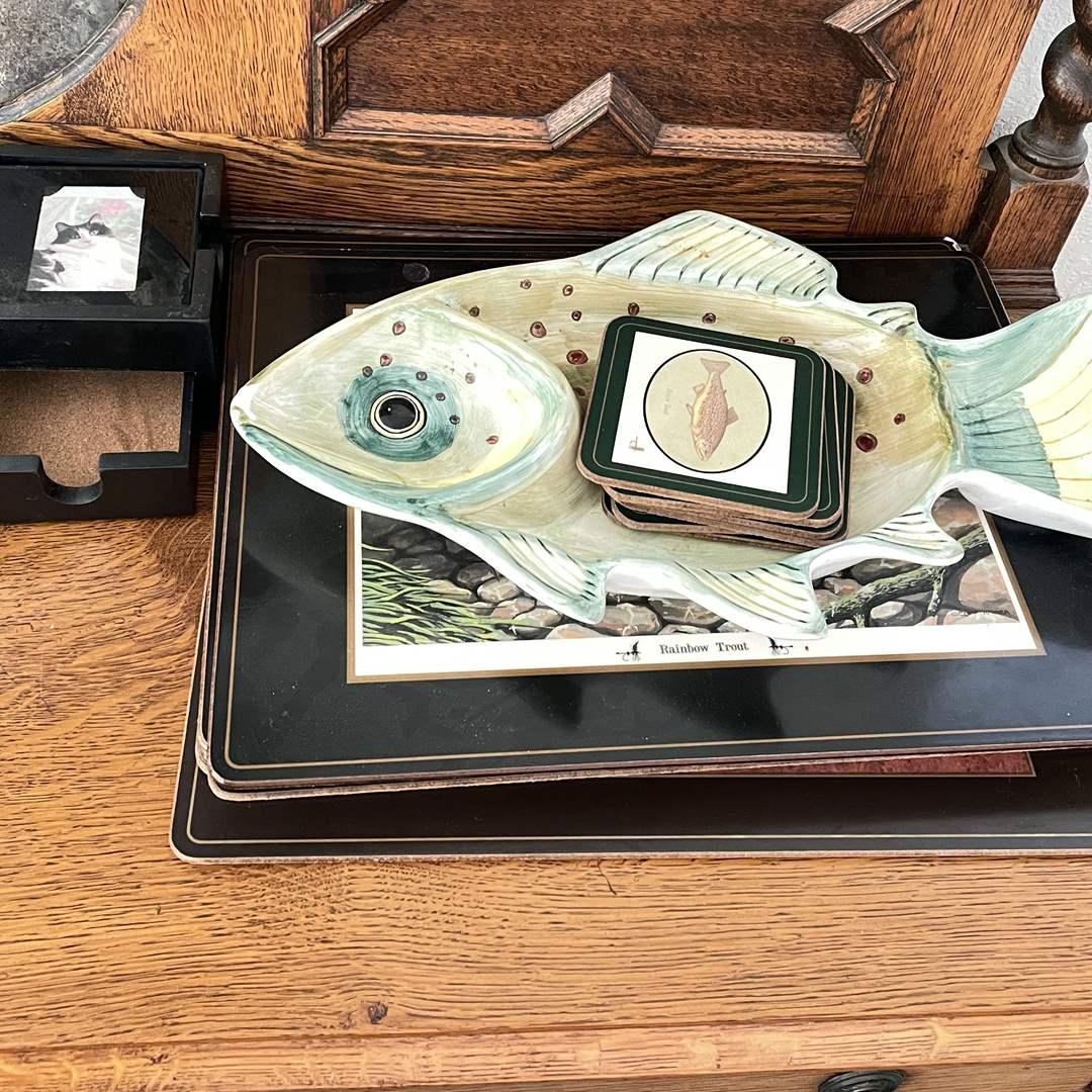Lot # 48 - Outdoorsman's Tableware (main image)