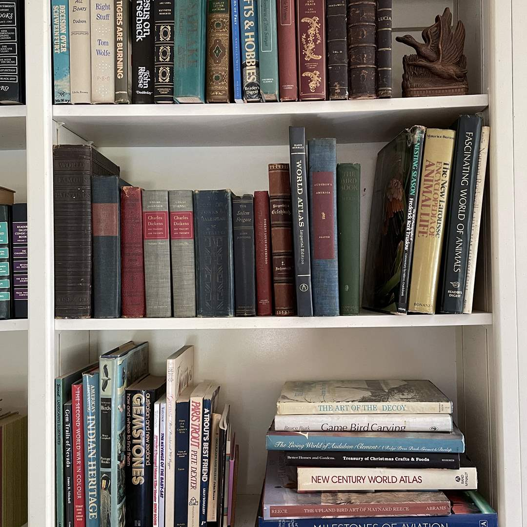 Lot # 54 - Hardcover Books and Bookend for your Library (main image)