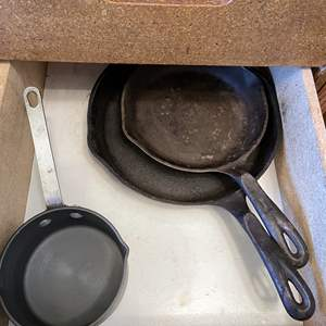 Lot # 68 - Collection of Cookware and Cast Iron