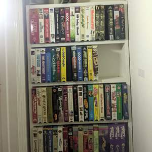 Lot # 101 - Huge Group of VHS Tapes
