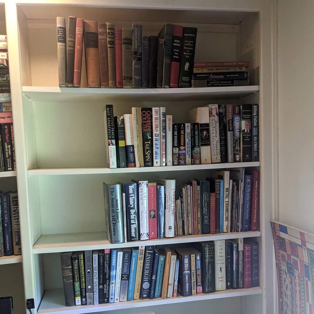 Lot # 104 - 4 Shelves of Books  (main image)
