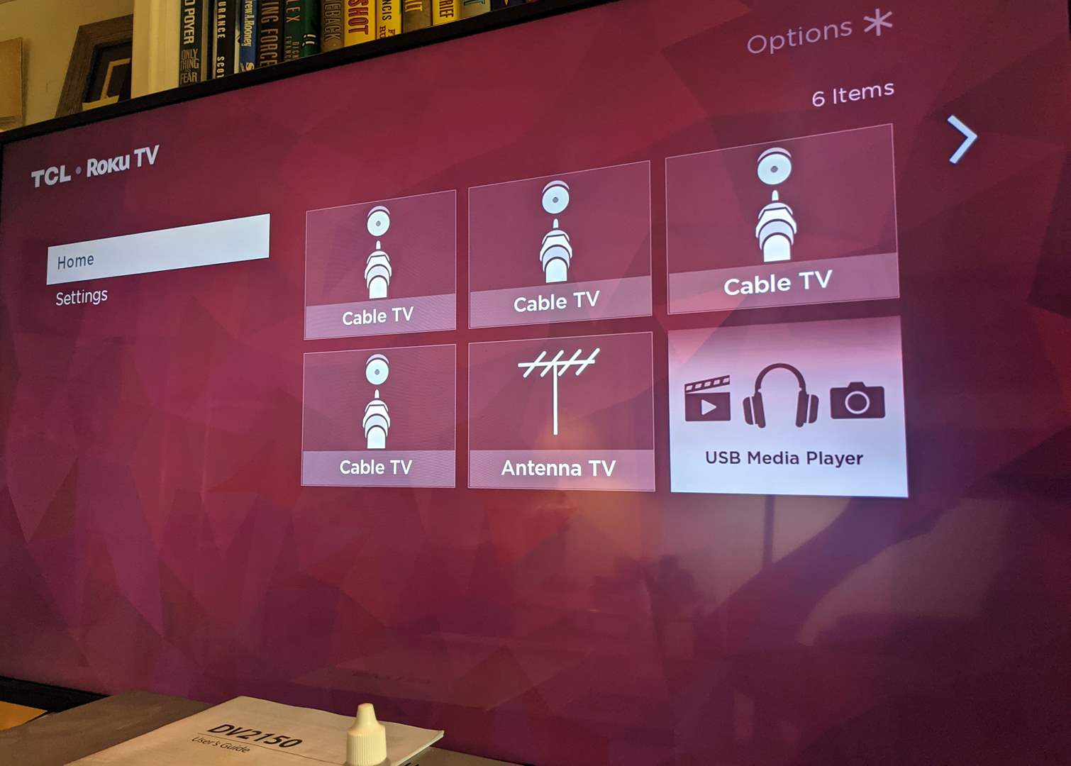 "Lot # 106 - Roku 43"" 4K Smart Tv and DVD VHS Player  (main image)"