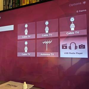 "Lot # 106 - Roku 43"" 4K Smart Tv and DVD VHS Player"