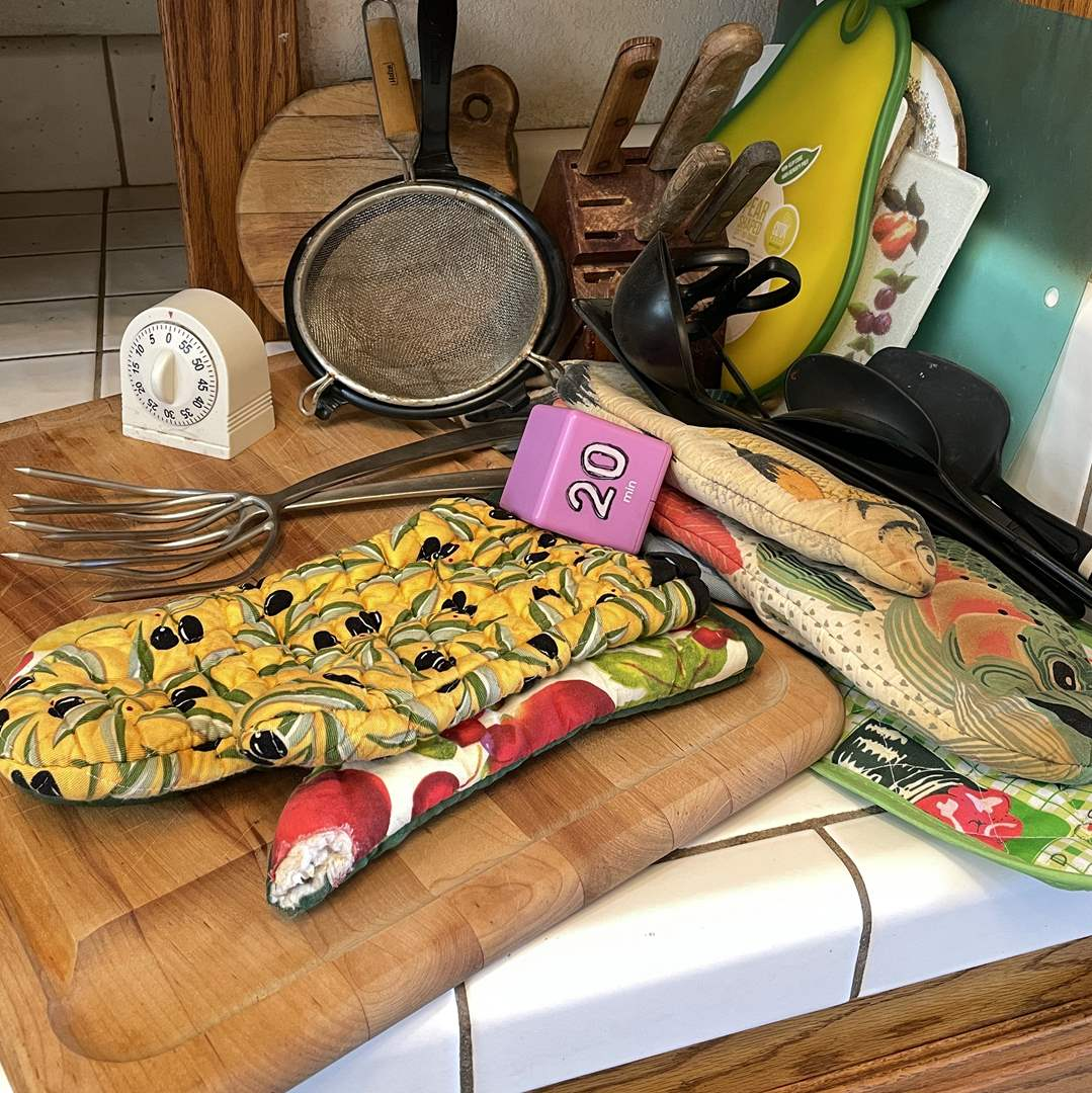 Lot # 80 - Cutlery, Cutting Boards, Utensils and More (main image)