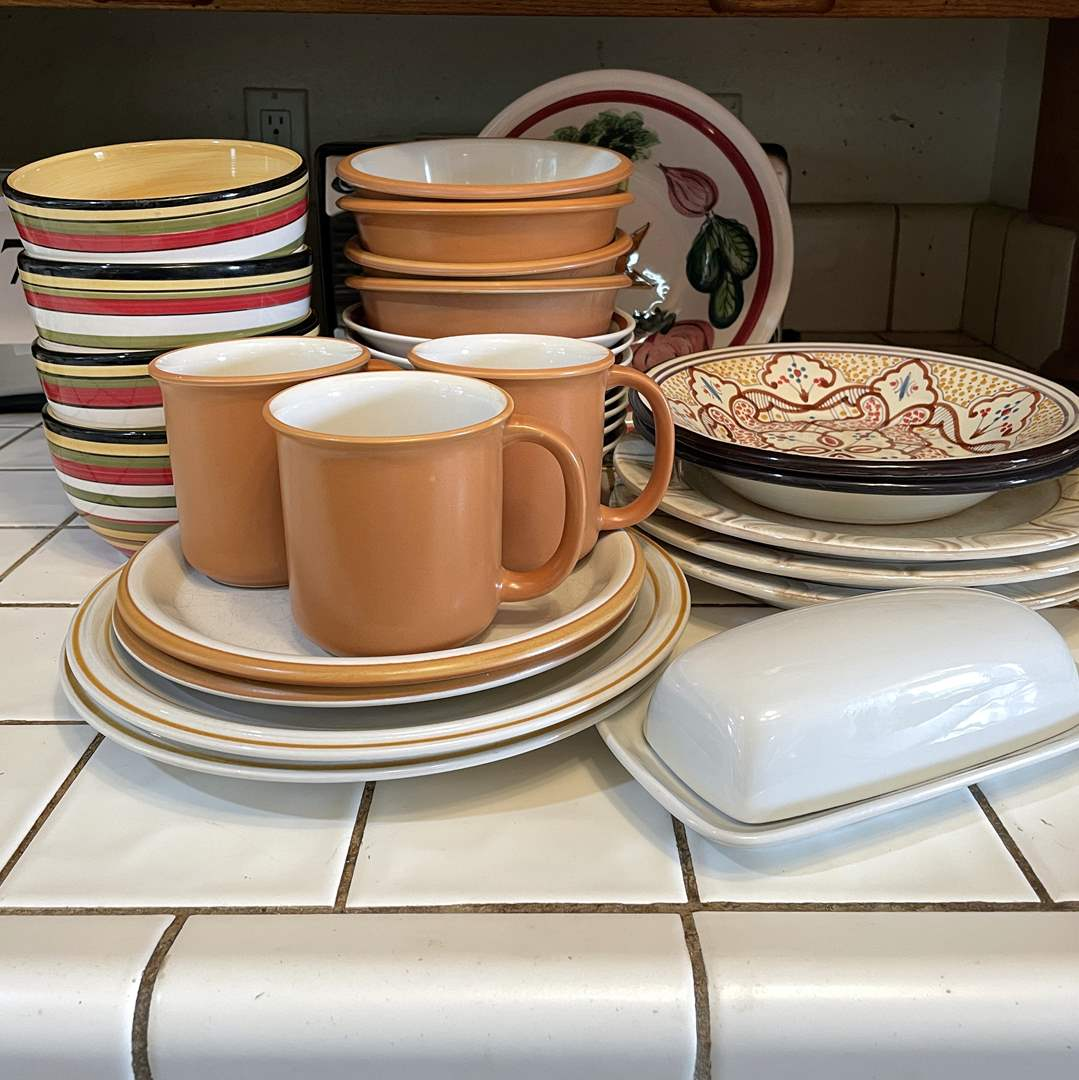 Lot # 83 - Assorted Complementary Dish Collection (main image)