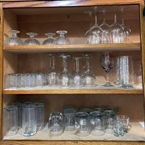 Lot # 84 - Large Assortment of Glassware