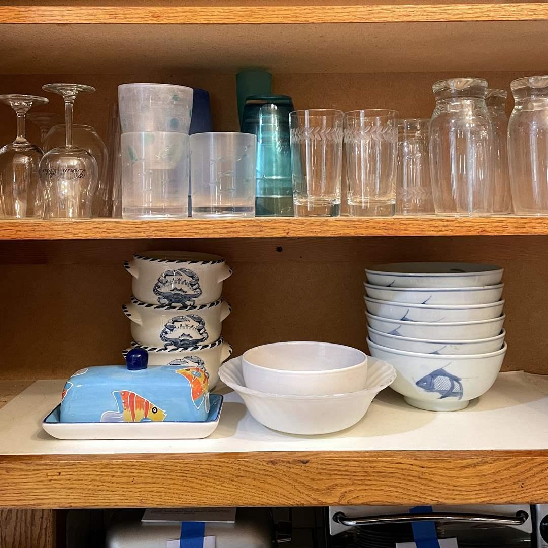Lot # 85 - Nautical Bowls, Glassware and More (main image)