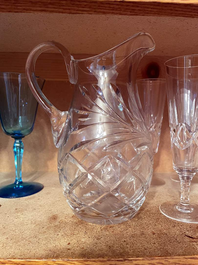 Lot # 86 - Huge Assortment of Unique Glassware (main image)