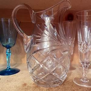 Lot # 86 - Huge Assortment of Unique Glassware