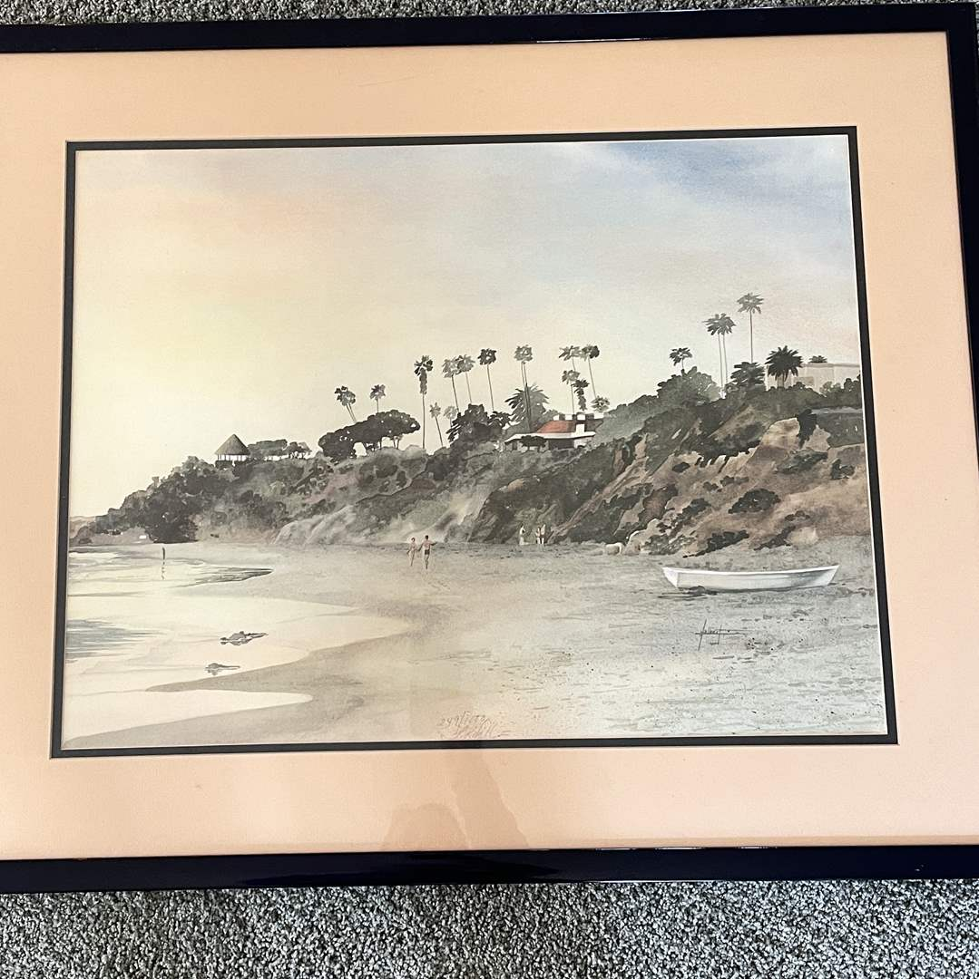 """Lot # 111 - """"A Quiet Moment"""" Dick Albert Signed Lithograph (main image)"""