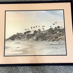 """Lot # 111 - """"A Quiet Moment"""" Dick Albert Signed Lithograph"""