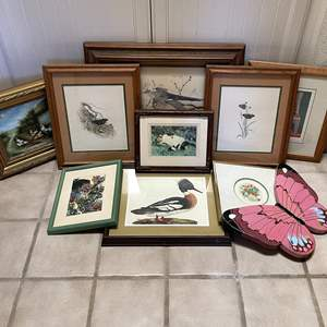 Lot # 113 - Large Collection of Framed Art