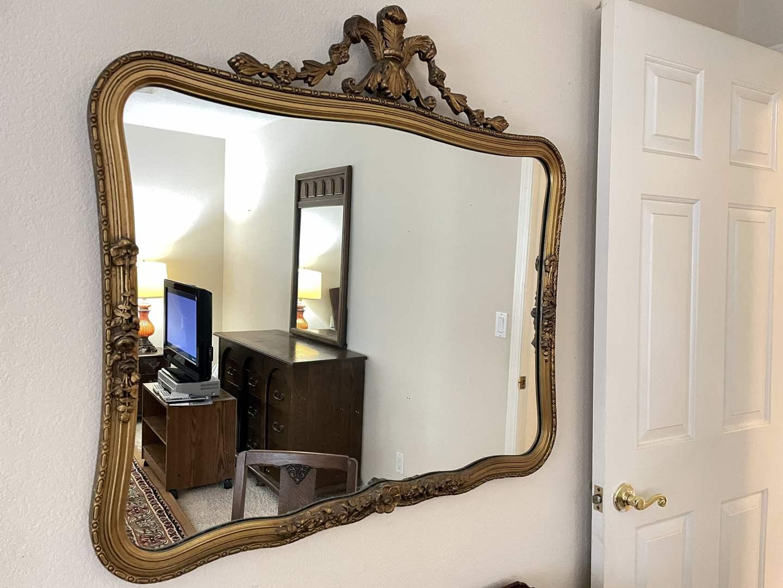 Lot # 124 - Beautiful Large Mirror (main image)