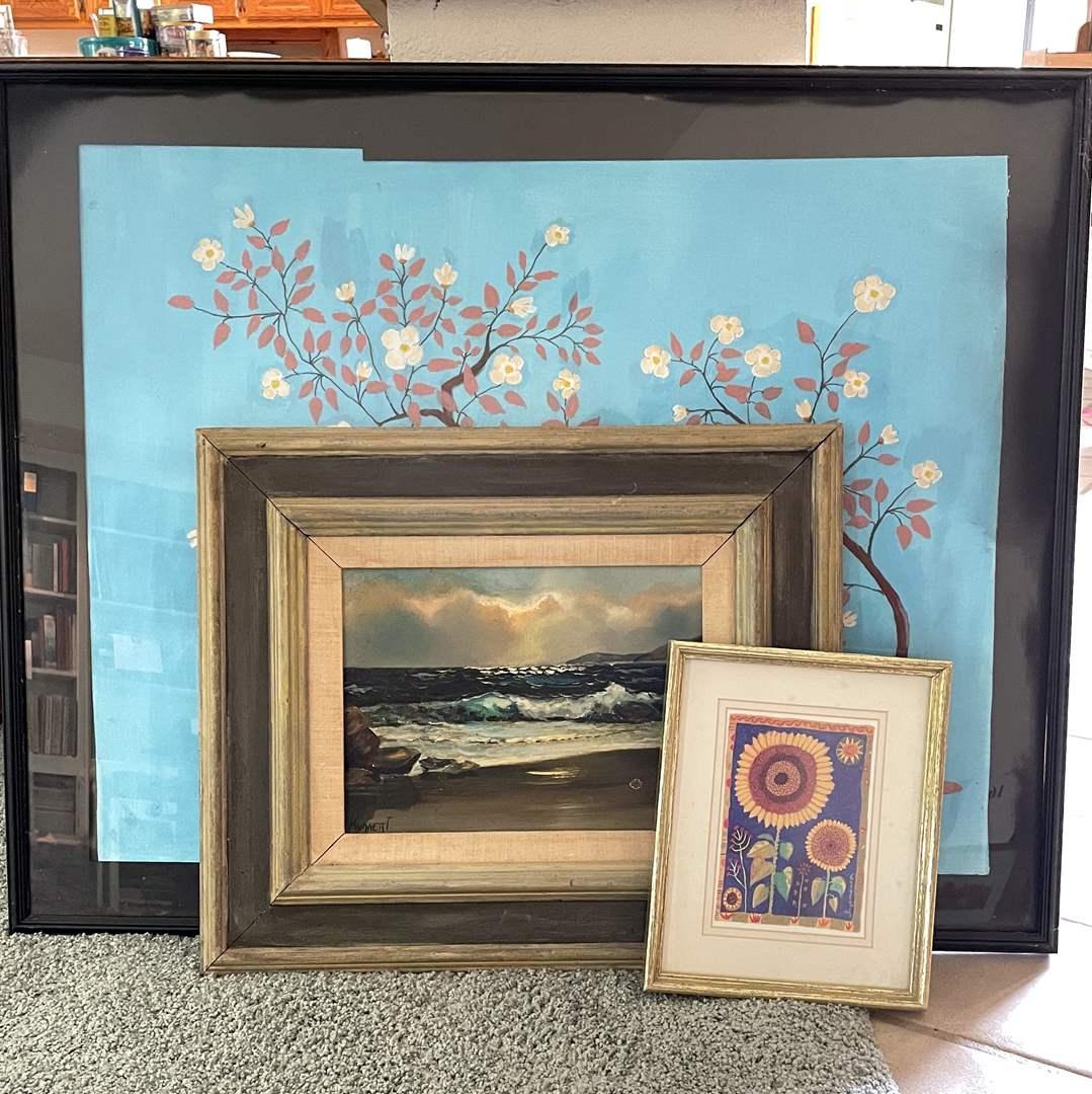Lot # 136 - Framed Artwork (main image)