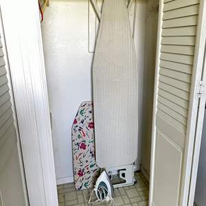 Lot # 146 - (2) Ironing Boards and Electric Iron