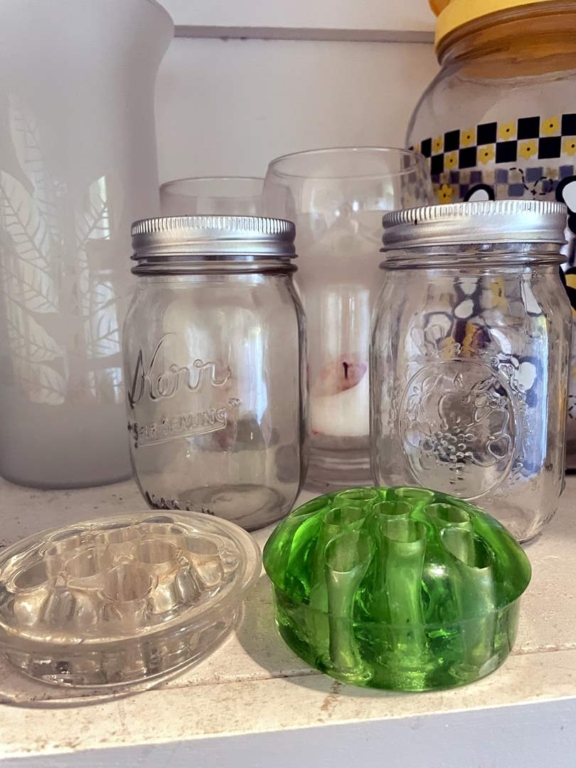 Lot # 150 - Vintage frogs, vases and Pitchers Galore (main image)