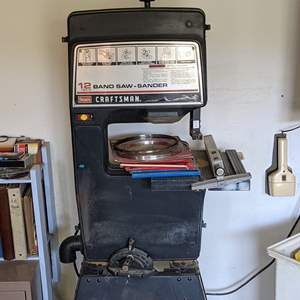 Lot # 166 - Craftsman 12 Inch Band Saw and Stand