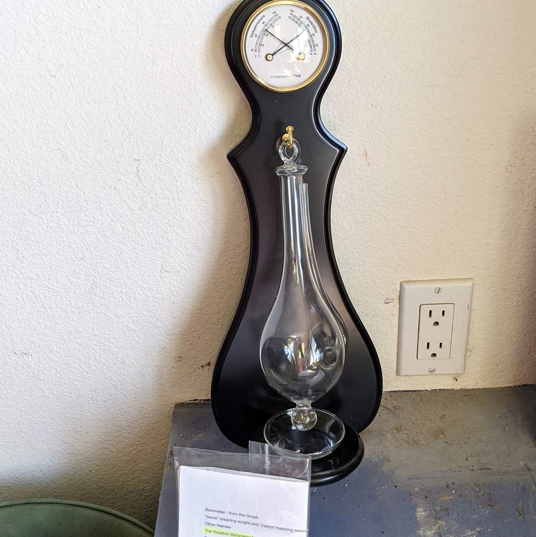 Lot # 167 - Like New Comfortmeter and Barometer  (main image)