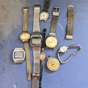Lot # 173 - Vintage Watches