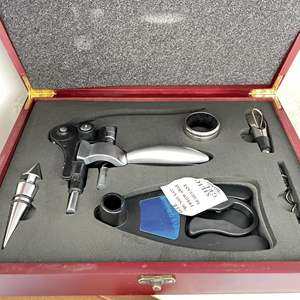 Lot # 199 - Culinary Concepts Wine Set, Food Scale, Toaster and Much More