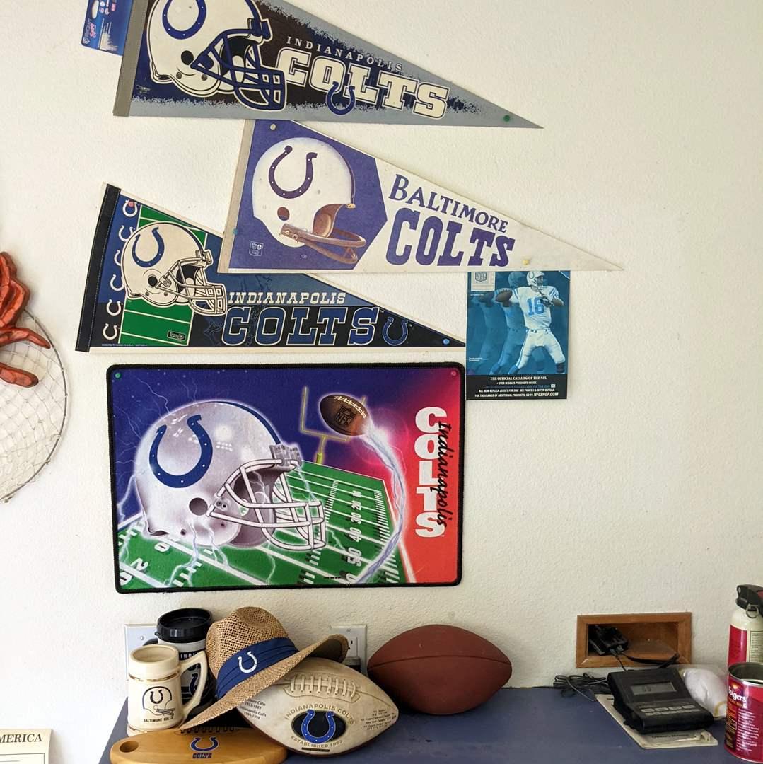 Lot # 189 - Colts Items and Memorabilia  (main image)