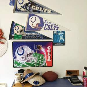 Lot # 189 - Colts Items and Memorabilia