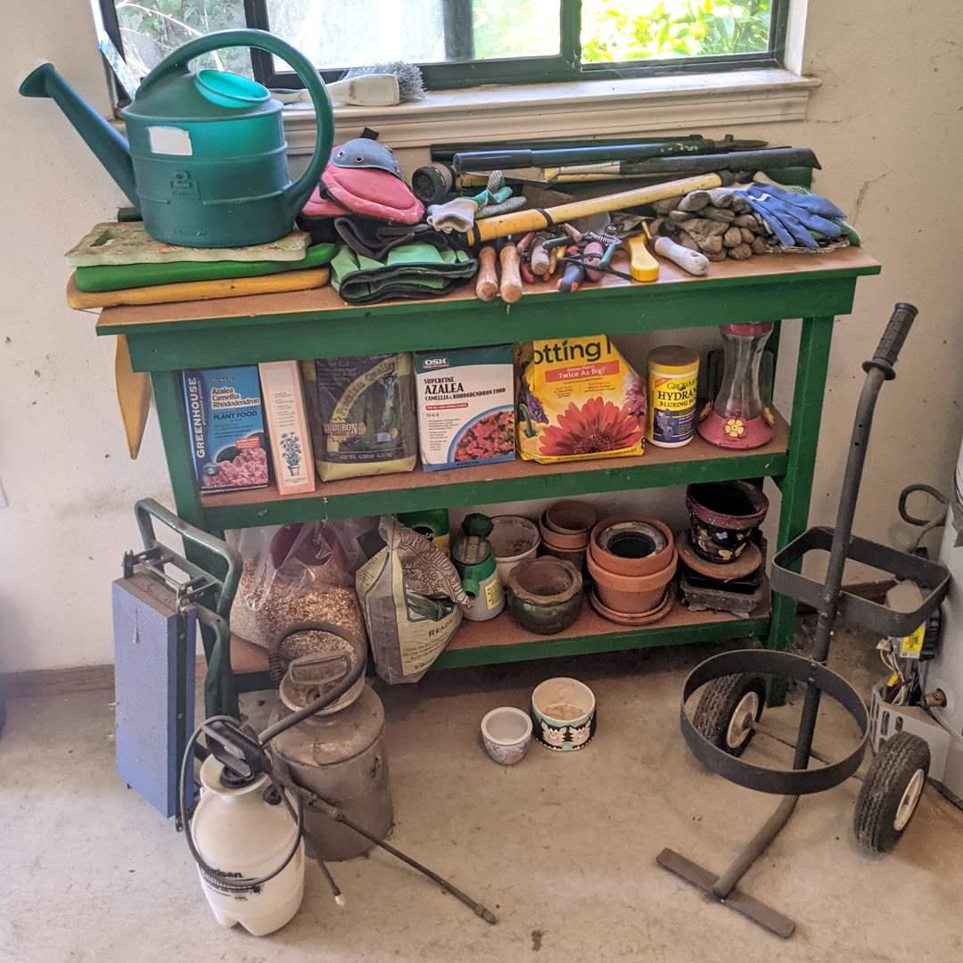 Lot # 193 - Huge Lot of Gardening Supplies  (main image)