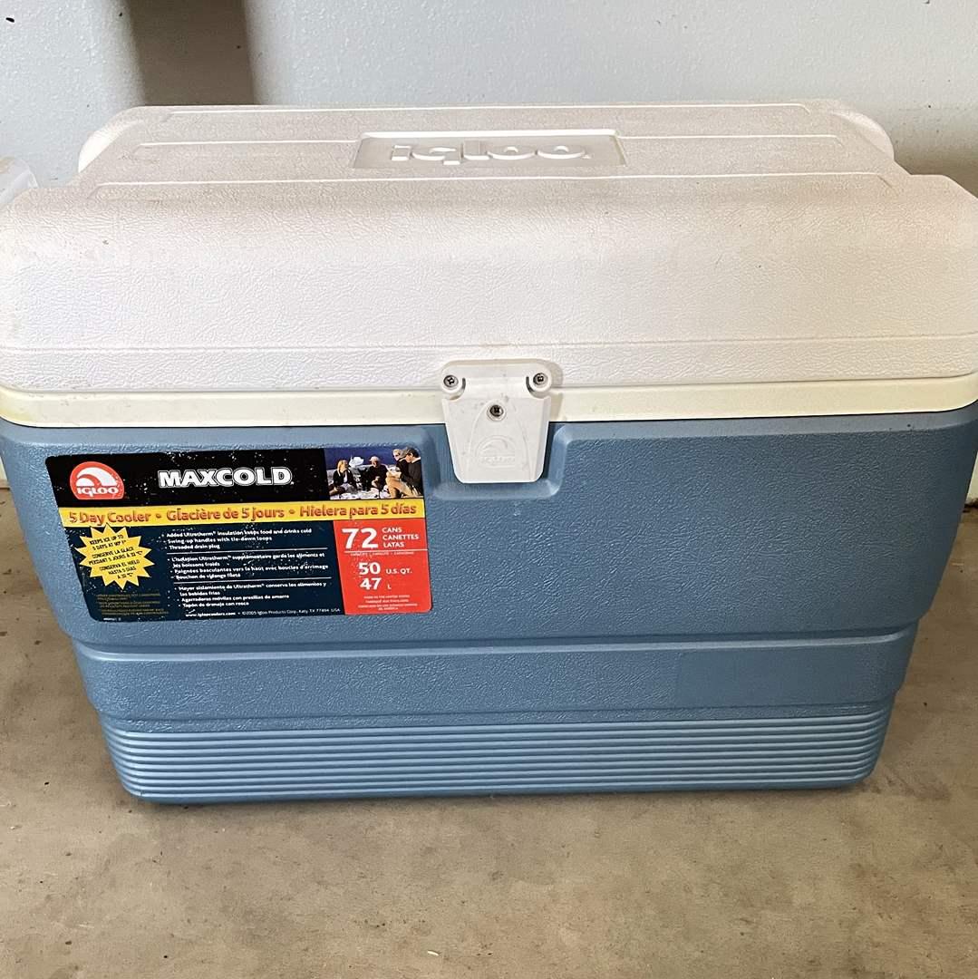 Lot # 208 - 5 Day Igloo Cooler (50qt) (main image)