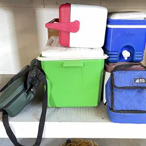 Lot # 212 - (6) Portable Coolers