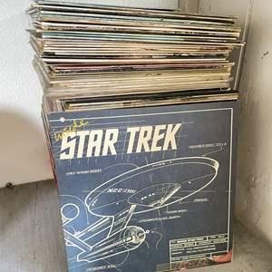 Lot # 213 - HUGE Stack of Vintage Vinyl Records