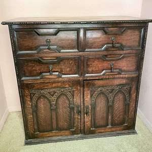 Lot # 118 - Large solid wood Dresser