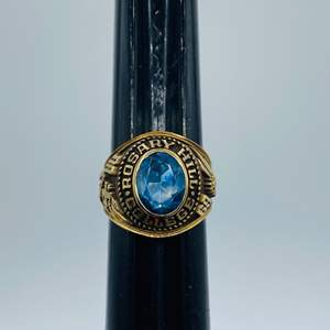 Lot #  2 - Class ring 10k gold (9.5g total weight)