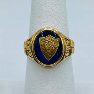 Lot #  3 - Class ring 10k gold (5.8g total weight)