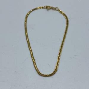 Lot #  4 - 14k gold bracelet (0.9g)