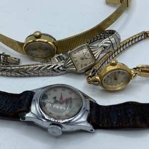 Lot #  33 - Vintage Hopalong Cassidy and Bulova watches