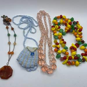 Lot #  37 - Vintage jewelry