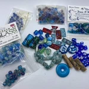 Lot #  49 - Glass beads