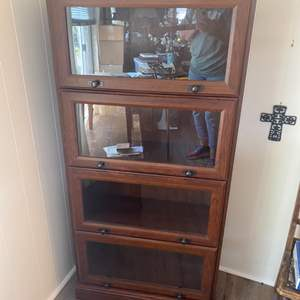 Lot #  68 - New lawyers bookcase