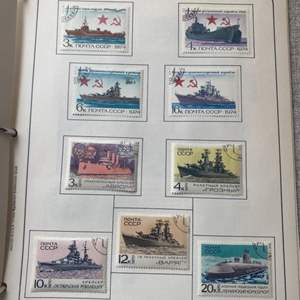 Lot #  72 - Russian 1960's stamp set