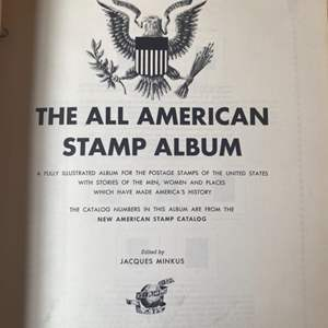Lot #  73 - All American stamp album