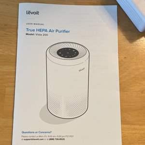 Lot #  77 - Levoit HEPA air purifier