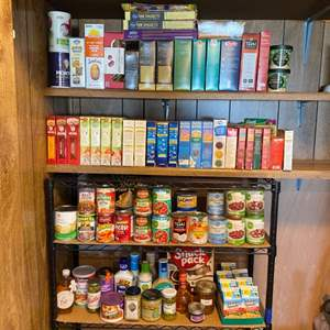 Lot #  91 - Food pantry contents
