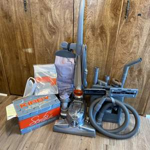 Lot #  92 - Kirby Sentria vacuum complete with carpet shampooing system