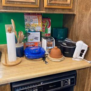 Lot #  94 - Small kitchen appliances and accessories