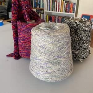 Lot # 123 - Large bolts of yarn