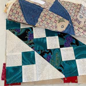 Lot # 138 - Quilting projects