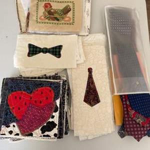 Lot # 140 - Quilting projects