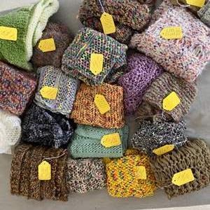 Lot # 148 - Handmade scarfs