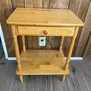 Lot # 164 - Side table with drawer
