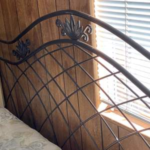 Lot # 165 - King size headboard and frame